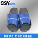 蓝色PVC拖鞋